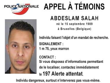 Salah Abdeslam, finally arrested/ AFP