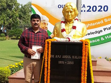 Despite bungalow row, Kalam's grand nephew Sheik Saleem continues to be loyal BJP member
