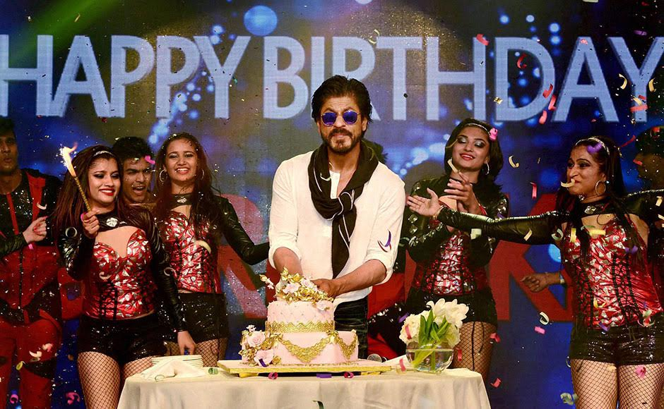 Happy Birthday King Khan Shah Rukh turns 50 in style celebrates