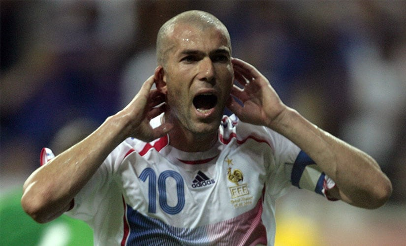 Zinedine Zidane's best game at the 2006 World Cup came against Brazil. Reuters