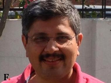 Ashish Joshi, the man behind Rajendra Kumar's arrest. Image courtesy/Firstpost