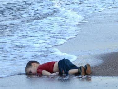 Aylan Kurdi. AFP