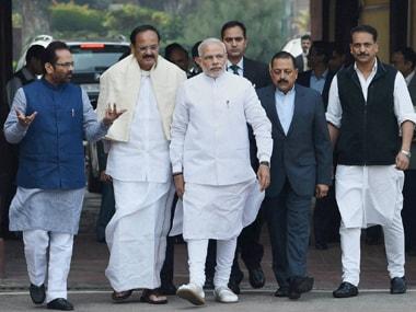 BJP leaders. PTI