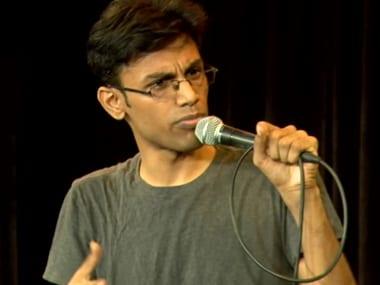 Comedian Biswa Kalyan Rath. Screengrab from YouTube