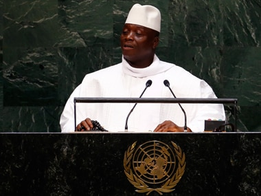 Gambia president declares country an Islamic state, stresses on rights of Christians and women