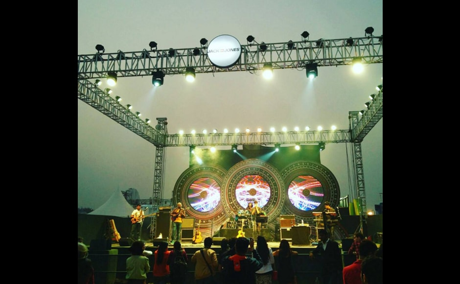 One of the most popular stage at the festival is the Jack and Jones one that features Indian artists. Image credit: jackjonesindia