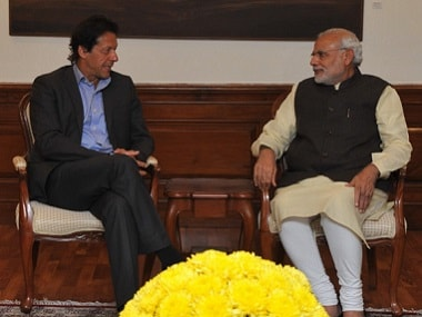 File image of Imran Khan and Narendra Modi. Twitter @MEAIndia