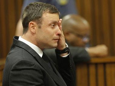 File photo of Oscar Pistorius in court. AP