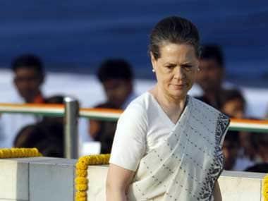 Congress president Sonia Gandhi. AP