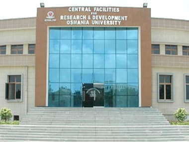 Osmania University. Image courtesy osmania.ac.in