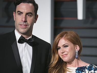 The spirit of Christmas present: Sacha Baron Cohen and Isla Fisher give $1 million for Syrian refugees