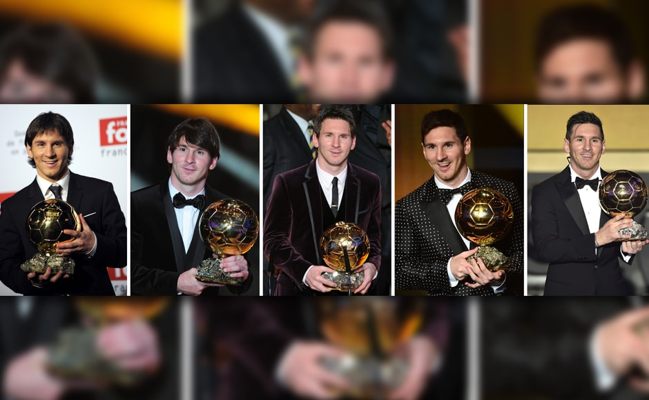 High-five: Lionel Messi wins record fifth FIFA Ballon dOr in a star-studded award ceremony