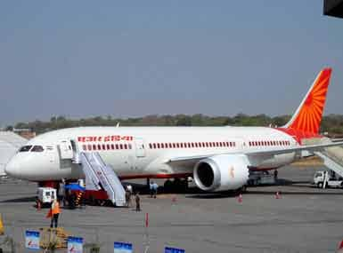 File photo of an Air India aircraft. PTI