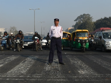 Delhi showed the way, now why can't it stick to the odd-even policy on its won? AFP
