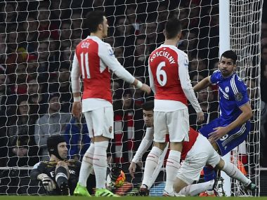 Premier League: Costa the boogeyman again as Chelsea sink Arsenal, Leicester back on top