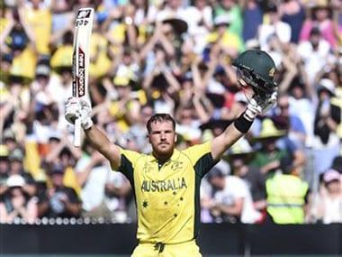 File photo of Australian opening batsman Aaron Finch. AP