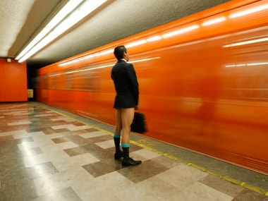 Watch: Groups of people across the world unite against pants