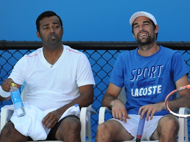 Australian Open: Paes-Chardy knocked out in the first round. Bhupathi starts with a win