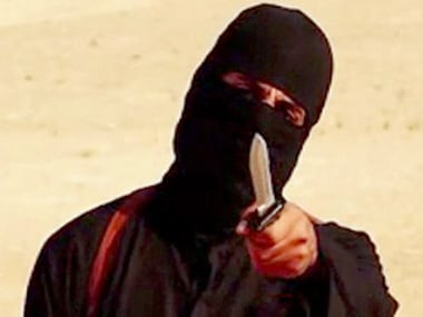 File photo of 'Jihadi John'. Reuters