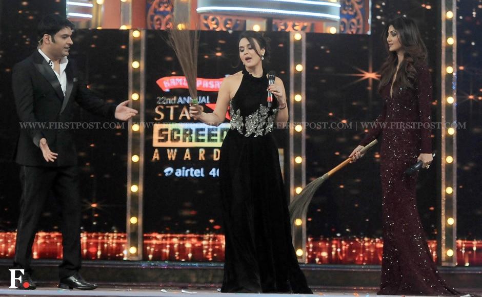 Kapil-Sharma,-Preity-Zinta,-Shilpa-Shetty