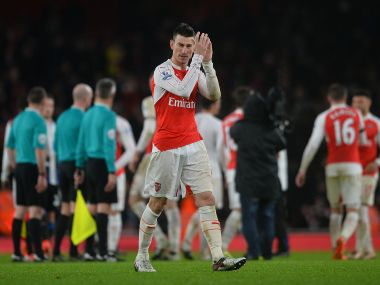 Premier League: Laurent Koscielny commits himself to Arsenal, says manager Arsene Wenger is inspirational