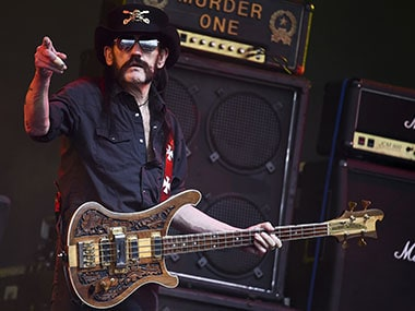 File Image of  Ian Lemmy Kilmister