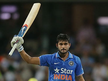 Manish Pandey's unbeaten 104 off 81 balls is his maiden century in ODIs. He became just the second Indian player after Sachin Tendulkar to post a hundred at SCG in a winning cause. getty
