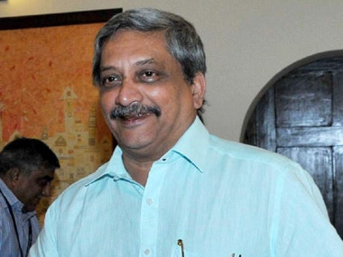 Union Defence Minister Manohar Parrikar. Image courtesy PIB