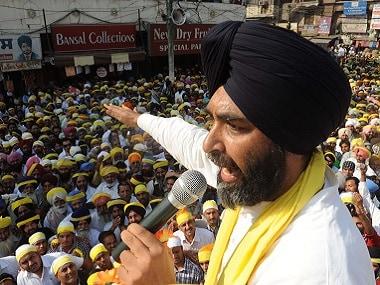 File image of Manpreet Singh Badal.