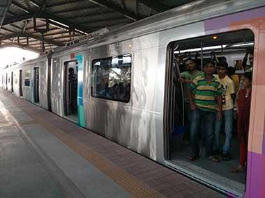 File image of Mumbai Metro