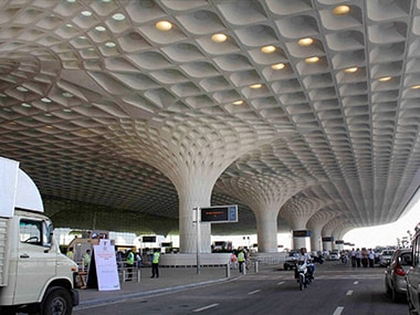 Chhatrapati Shivaji International Airport in Mumbai. PTI