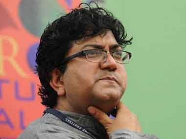 File image of Prasoon Joshi. AFP