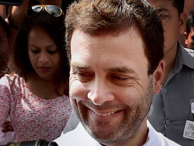 Rahul Gandhi. File photo. PTI