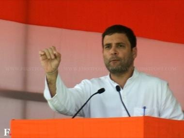 Congree vice president Rahul Gandhi. Naresh Sharma/Firstpost