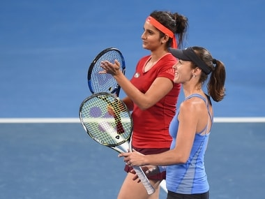 Fabulous start to 2016 for Sania Mirza and Martina Hingis. Getty
