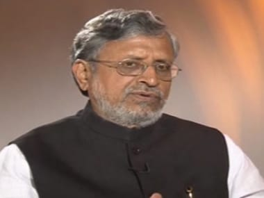 Sushil Kumar Modi says action will be taken against Tejaswini Prasad Yadav for illegal mall construction