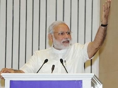 PM Modi. File photo. PTI