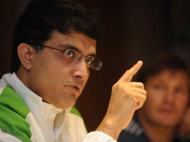 Sourav Ganguly. AFP