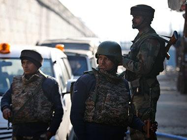 Army on high alert. AP