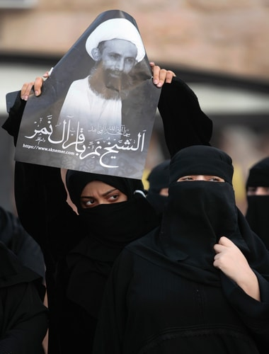 Nimr's execution sparks outrage/ AFP