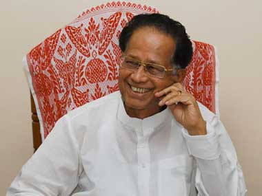 Assam Chief Minister Tarun Gogoi. AFP