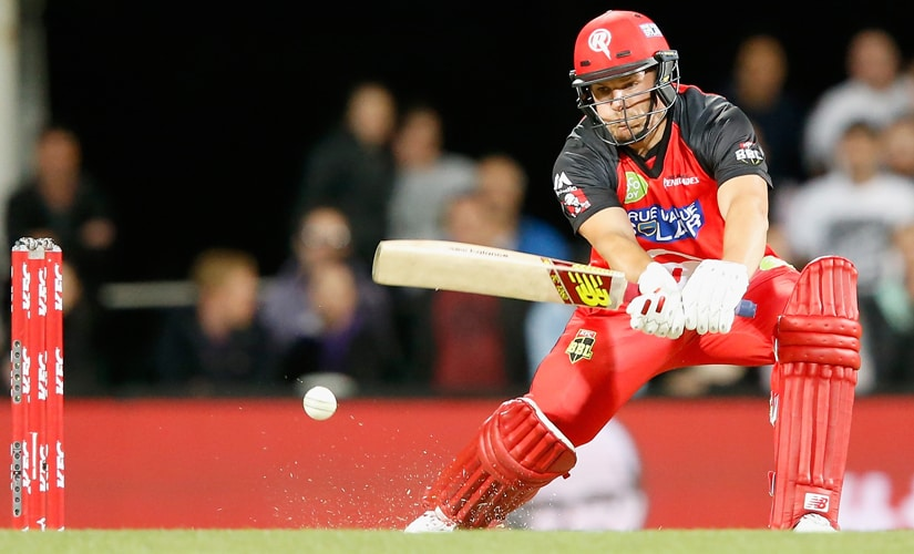 Aaron Finch. Getty Images