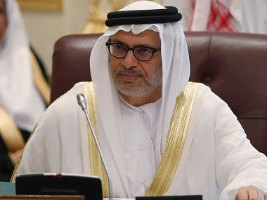United Arab Emirates' Minister of State for Foreign Affairs Anwar Mohammed Gargash in a file photo. Reuters