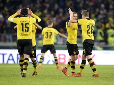 Borussia Dortmund, Werder Bremen reach German Cup semis with 3-1 wins