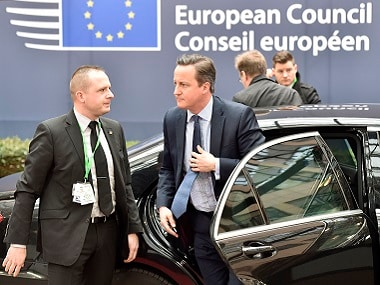 #Brexit fight: PM David Cameron faces off with 27 EU leaders in battle for Britain