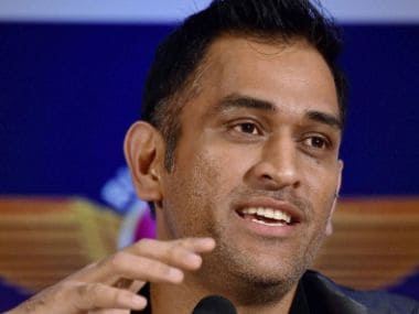 File photo of MS Dhoni. PTI