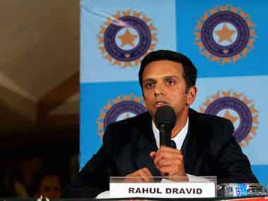 File picture of Rahul Dravid. PTI
