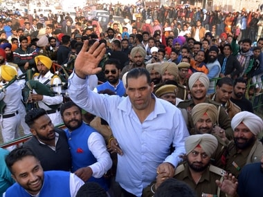Great Khali got his great revenge. AFP