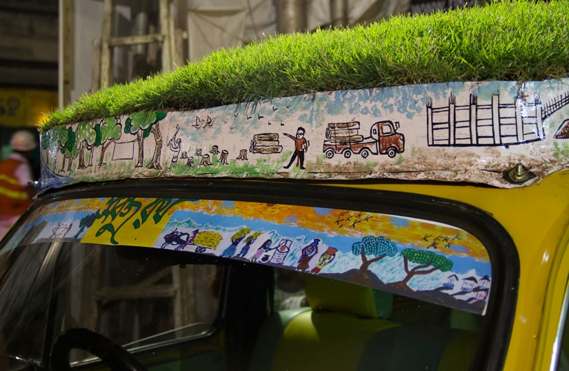 Green chariot: How a cab driver is driving change in Kolkatas urban jungle