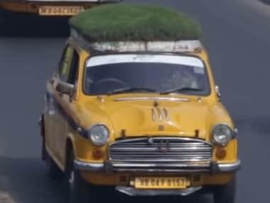 A green taxi in Kolkata. Screen grab from YouTube